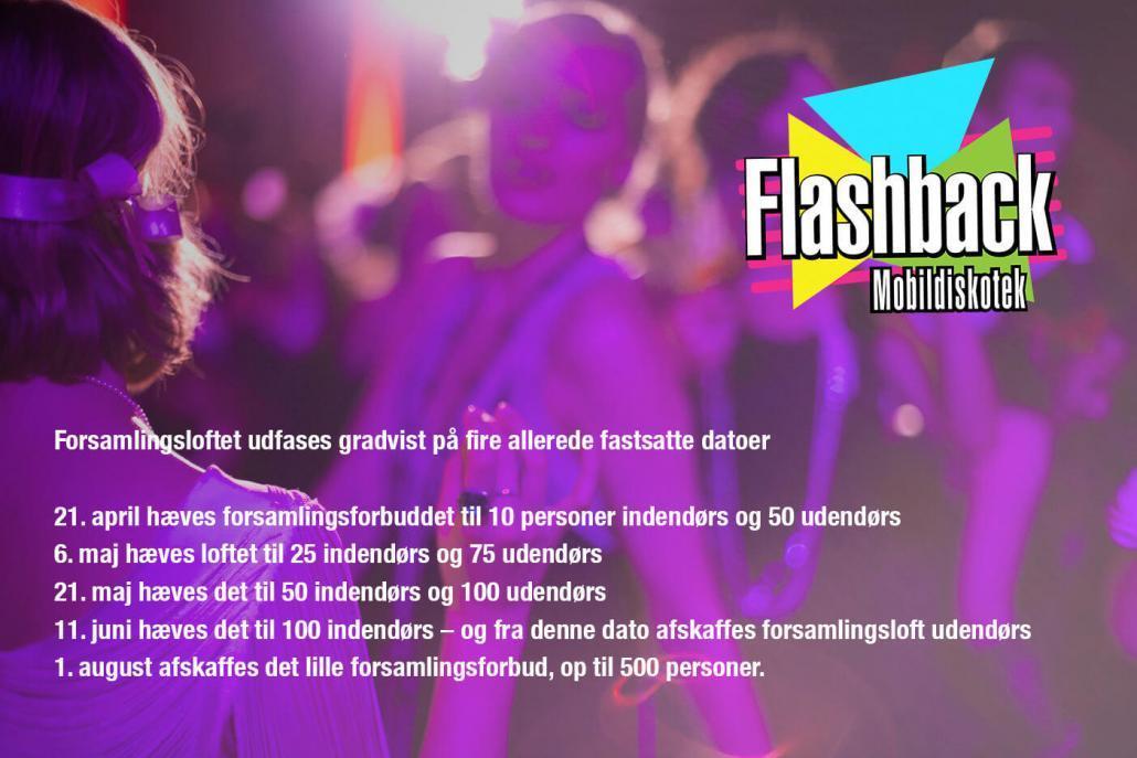 Mobildiskotek Flashback - Covid19